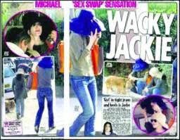 杰克逊被目击女装现身疑已经秘密做变性手术