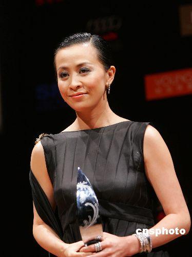 刘嘉玲发福被疑有孕友人称她没打算生孩子(图)
