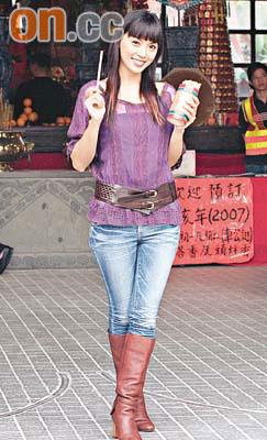 陈炜将被力捧为性感女神以狄娜为奋斗目标(图)
