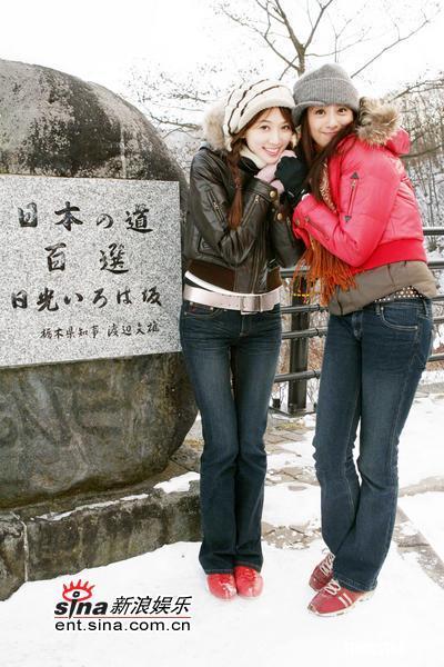 组图:林志玲钟情日本温泉对验胸传闻不介意