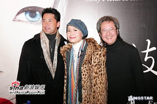 组图:叶童王敏德出席《艺伎回忆录》慈善首映