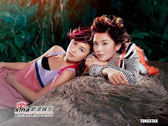 组图:Twins拍新宣传照变身时尚成熟小女人