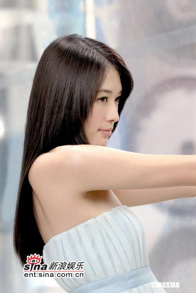 组图:林志玲柔美秀发做代言含情脉脉情话绵绵