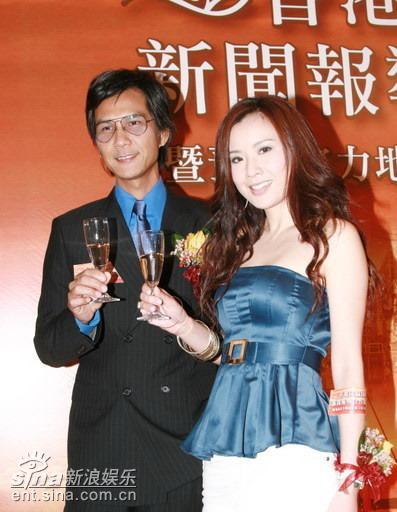 组图:陈启泰等参加香港回归新闻报导启动仪式
