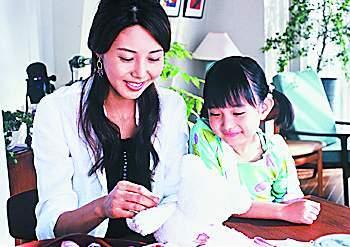松岛菜菜子产后谈妈妈经女儿和工作是不同喜悦