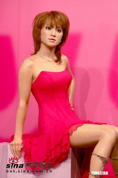 滨崎步蜡像被狠踩人气下滑只因希望早日出嫁