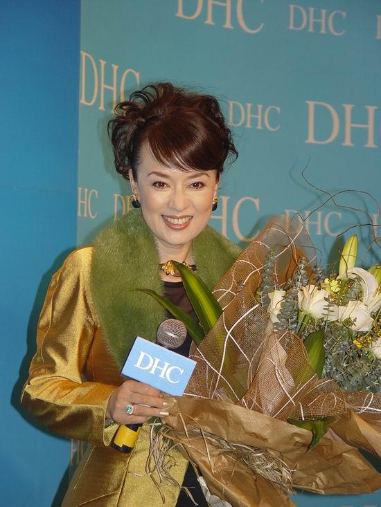 图文:DHC中国上市金喜善翁倩玉叶美香等捧场(4)