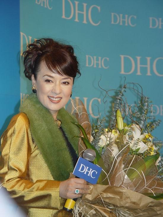 图文:DHC中国上市金喜善翁倩玉叶美香等捧场(5)