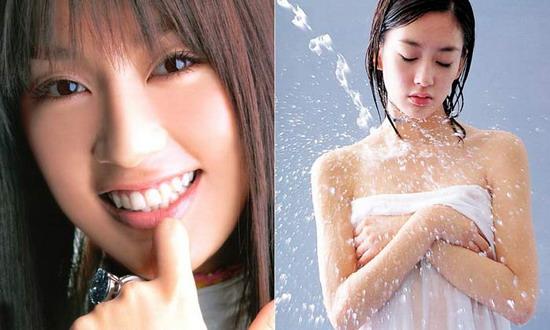 图文:日本女星为出位一脱到底--水川麻美