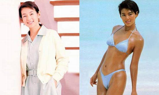 图文:日本女星出位一脱--铃木保奈美