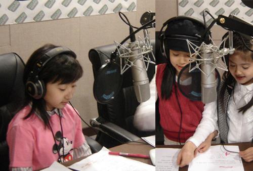 韩国儿童组合七公主任DJ 新鲜可爱打动听众(图