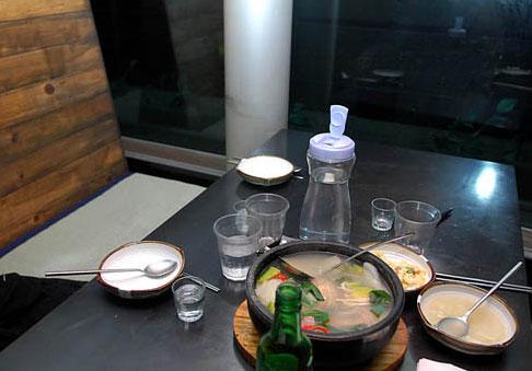组图:郑多彬最后晚餐谈笑风生绝笔写请幸福吧