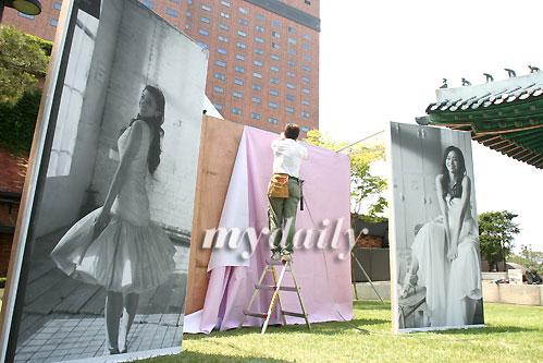 组图:韩彩英即将大婚结婚现场曝光写真照迷人