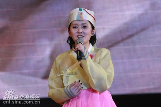 图文:张娜拉演唱会--韩国特色
