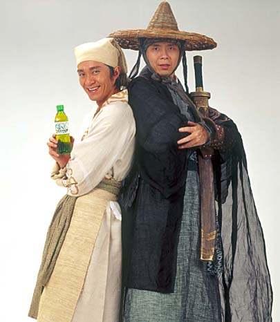 老婆 周星驰 北京/今天(3月9日)下午,周星驰、冯小刚联手打造娃哈哈茶饮料广告的...