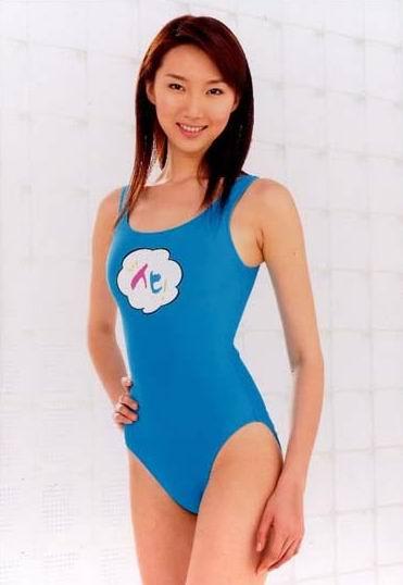 中国模特刘多泳装为日本企业代言多图;