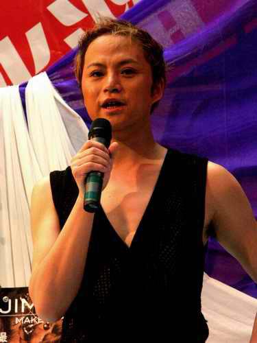 吉米北京举行今夏娃娃流行彩妆发布(组图)