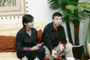 组图:张国立邓婕开夫妻店冯小刚夫妻齐来贺