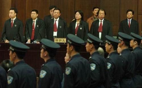 吴若甫遭绑架案嫌犯宣判3人被判死刑(组图)