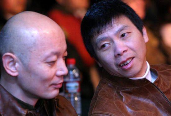 组图:冯小刚葛优做代言坦言乐意与周星驰合作