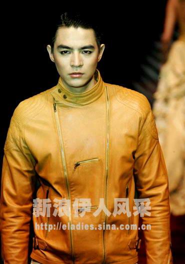 组图:李学庆率众顶尖男模上演一场男色倾城秀