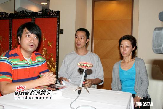 组图:星辉公司召开记者会回应黄圣依指控