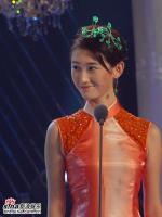 组图:05星姐最旺人气奖公布7号佳丽韩剑文当选
