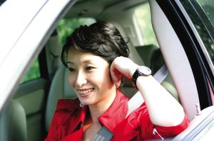 秦海璐:我有爱车的遗传基因开车最需要安全感