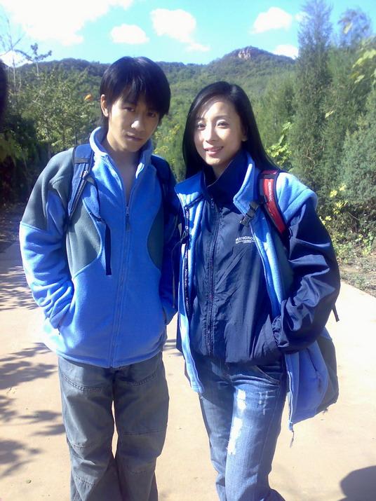 林申徐筠香山拍摄情侣照男主角生日野外度过
