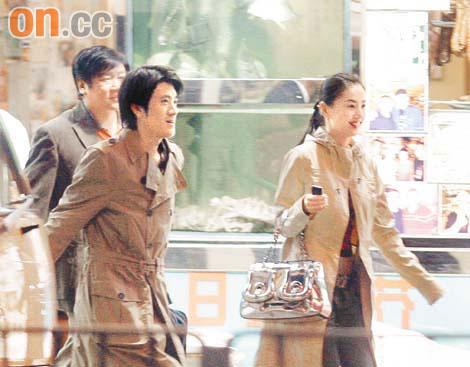 黄圣依香港和杨子K歌吃饭将与谢霆锋合作(图)