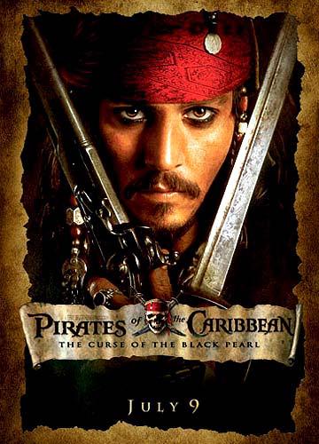 强尼-戴普盼望《加勒比海盗4》欲继续演杰克