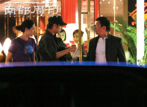 """两大帅哥夜店""""密会""""陈坤""""跪拜""""唐季礼(图)"""