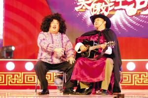 《笑傲江湖》热闹开场明星说相声像演小品(图)