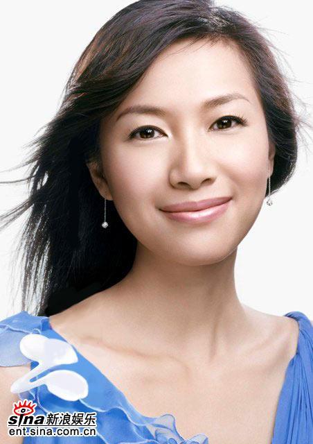 组图:徐静蕾清新代言化妆品广告大片首度曝光