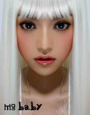 组图:明骏女孩成员娃娃挑战滨崎步超现实写真