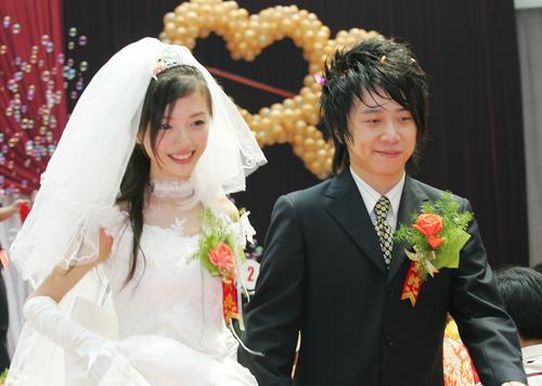 组图:花儿乐队郭阳大婚大张伟主持羽泉到贺