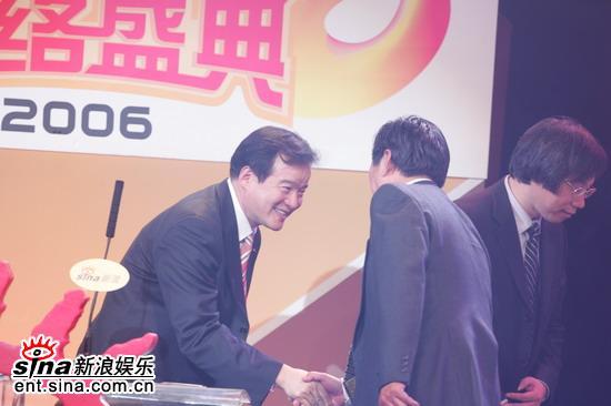 图文:姜泰隆颁发年度体育成就突破奖