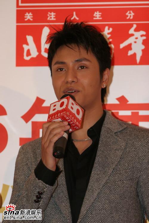 图文:BQ2006年度红人榜--帅气陈坤