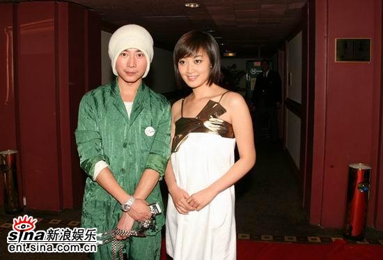 组图:赵琳王学兵获BQ2006年度红人榜爱心大使