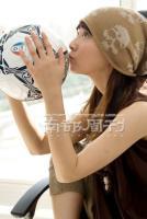 6月22日最美女星:黄奕张茜李倩韩晓变身足球宝贝