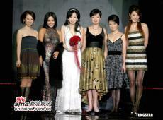 8月2日最美女星:萧蔷美艳婚纱秀低胸装扮显优雅