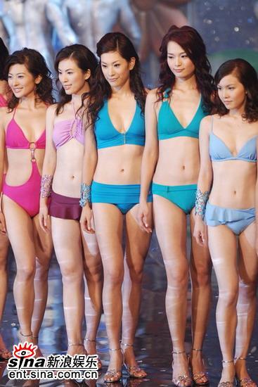 图文:2006港姐竞选总决赛--美女泳装十分养眼