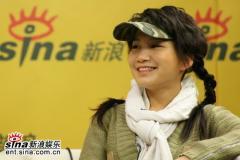安又琪艾梦萌做客新浪PK舞林大会和超级女声