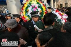 组图:马季追悼会八宝山举行大批群众到场吊唁