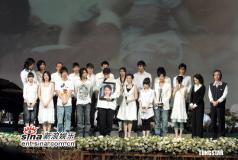 组图:纪念许玮伦音乐会举行女助理包头现身