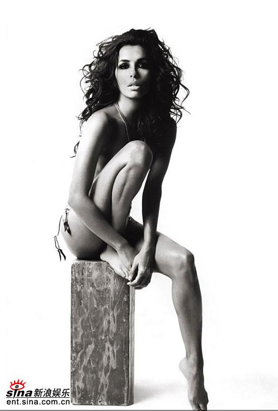 图文:伊娃-朗格利亚--性感美腿