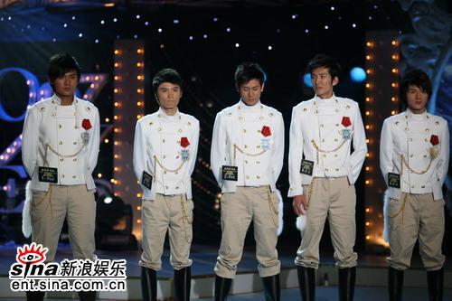 图文:好男广州5强产生--广州5强产生