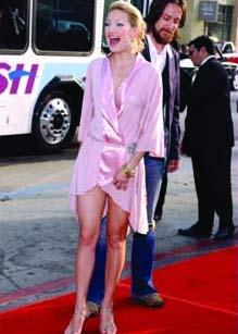 好莱坞甜姐凯特-哈德森:为自己爱的人活着(图)