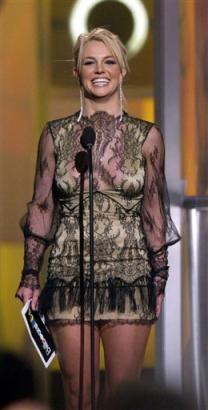 美电视台评年度十大明星布兰妮高居榜首(组图)