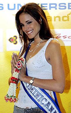加拿大小姐获得环姐冠军中国小姐未进前15(图)